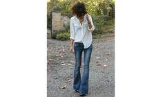 Modetips: De bästa skorna att ha till utsvängda jeans