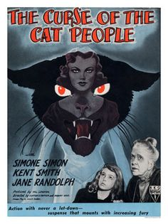 AP034K - Curse Of The Cat People, Horror Movie Poster (30x40cm Art ...