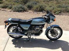 1981 Moto Guzzi V50 Monza R Side