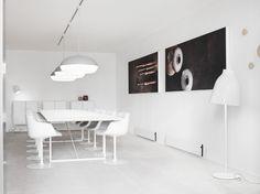 Lightyears Showroom in Copenhagen. 4.0 meter T.T.A. Dinesen Douglas Table | MA/U Studio | Mikal Harrsen |