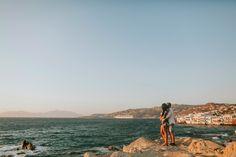 Engagement in Mykonos Mykonos, Golden Gate Bridge, Wedding Engagement, Travel, Viajes, Destinations, Traveling, Trips