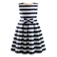 Striped Party Dress - By Rachel Riley