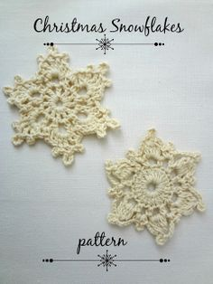 pattern for snowflakes