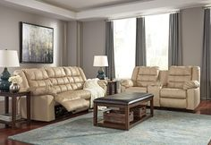 Discover a world of comfort and style with the brolayne in Beige! All American Furniture, Lakeland, FL