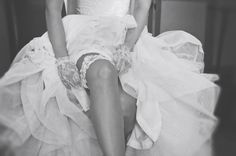 Lace Garter Lace Garter, Got Married, One Shoulder Wedding Dress, Our Wedding, Stylish, Wedding Dresses, Boudoir, Beautiful, Fashion