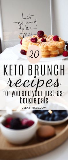 Gathered here are keto brunch recipes for your healthy brunch party. You don't have to give up brunch for you keto or low carb diet. 20 Keto brunch recipes for you and your just-as-bougie pals - 20 Keto brunch recipes for you and your just-as-bougie pals Keto Friendly Desserts, Low Carb Desserts, Low Carb Recipes, Diet Recipes, Diet Desserts, Protein Recipes, Shake Recipes, Health Recipes, Diet Tips