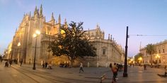 La Catedral de Sevilla, España.
