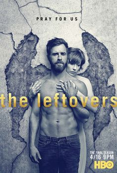If this brand new artwork from HBO's The Leftovers is any indication... the final season (season 3) of the show is going to be BIBLICAL! I really LOVE this show... so unique... so good!