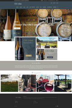 Wine Websites, Wine House, Wine Magazine, Website Ideas, Site Internet, Site Design, Web Design Inspiration, Cellar, Tourism