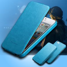 Retro Luxury Flip Phone Case for Iphone 5 5S 5G PU Leather Cover