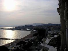 """Sunset over """"Le Suquet"""", Cannes"""