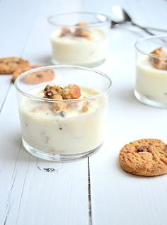 Lijkt me lekker Köstliche Desserts, Sweets Recipes, Delicious Desserts, Yummy Food, Chocolate Chip Cheesecake, Snacks To Make, How Sweet Eats, Diy Food, Sweet Treats
