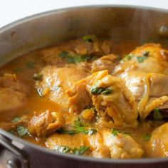 Spicy Coconut Chicken Curry