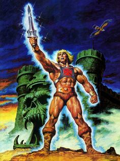 Masters of the Universe - He-Man by Earl Norem (April 17, 1924 – June 19, 2015) *