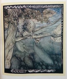 Irish Fairy Tales illustration - Arthur Rackham | Flickr - Photo Sharing!