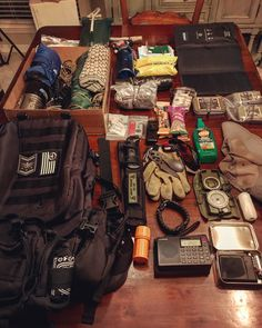 Waiting for and packing our emergency bag. - Tap The Link Now To Find Gadgets for Survival and Outdoor Camping Emergency Bag, Emergency Preparedness, Survival Equipment, Survival Gear, Survival Stuff, Edc, Bug Out Bag Essentials, Urban Carry, Everyday Carry Items