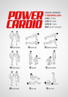 Power Cardio Workout                                                                                                                                                                                 Más