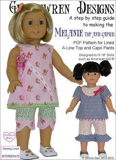 Pixie Faire Genniewren Designs Melanie Top by PixieFairePatterns