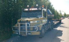 Heavy Truck Transport Firma Mäntylä Helsinki Finland..