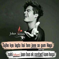 Boys Attitude Quotes In Hindi English Desi Quotes, Up Quotes, Status Quotes, Girly Quotes, Strong Quotes, Hindi Quotes, Woman Quotes, Psycho Quotes, Karma Quotes