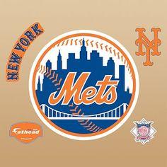 New York Mets Logo, Fathead #pbteen