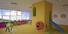 Проект детского сада на 100 мест. Kindergarten. on Behance