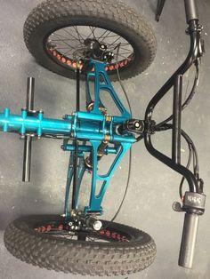 Tricycle Bike, Trike Bicycle, Recumbent Bicycle, Motorcycle Design, Bicycle Design, Triumph Motorcycles, Custom Go Karts, Go Kart Steering, Scooters