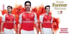 Equipacion Arsenal primera 2014-2015