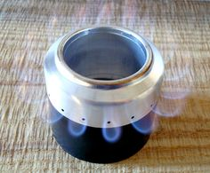Rocket alcohol stove - ultra light camping stove.