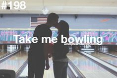 """On our """"last day"""" together I got a full 24 hours with him and we did so much fun stuff including bowling... just him and me. I told him I was terrible and then got a strike on my first try. ;)"""