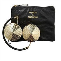 Frends x Mimco Gold Taylor Monogramania Headphones