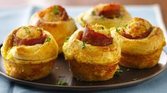 Pillsbury® crescent rounds wrap up a delicious new way to love bacon and eggs!