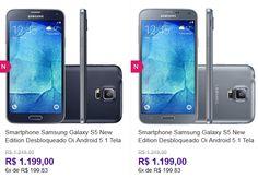 Samsung Galaxy S5 New Edition Android 5.1 Tela 5.1'' 16GB Wi-Fi 4G Câmera 16MP - Duas Cores Disponíveis << R$ 119900 em 6 vezes >>