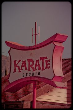 Karate sign to Remember