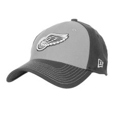 4870553273bf8 Detroit Red Wings New Era 39Thirty Platinum Classic Cap Size S M by New Era