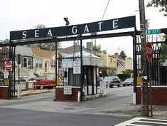 Surf Avenue entrance, Sea Gate, Brooklyn, NY