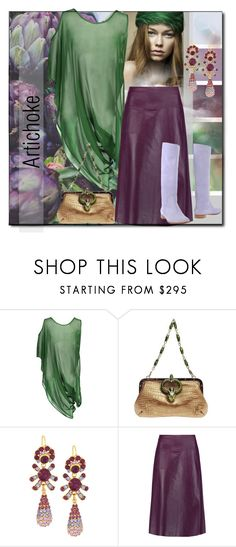 """""""Artichoke"""" by interesting-times ❤ liked on Polyvore featuring Pretty Green, Ciel, Taylor, Gucci, Jose & Maria Barrera, Raoul and Sergio Rossi"""