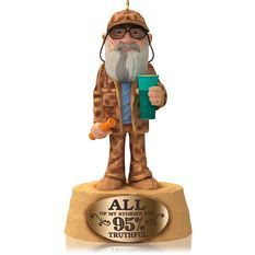 Uncle Si Hallmark 2014 ornaments that I like...