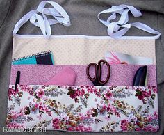 At home with Mrs H: Utility apron w/ two layers of pockets