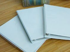 Use Binders to Create a Simple Household Filing System