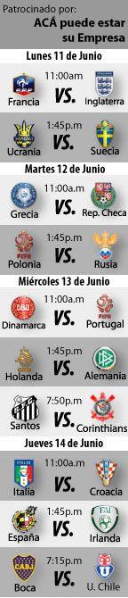 Fútbol recomendado para esta semana: del 11 al 14 de Junio, Hoy:    https://blogueabanana.com/deportes/91-futbol/648-futbol-recomendado-11-al-14-de-junio.html