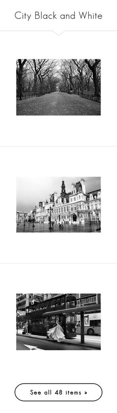 """City Black and White"" by bklana ❤ liked on Polyvore featuring backgrounds, pictures, places, black and white, new york, buildings, city, home, home decor and black and white home decor"