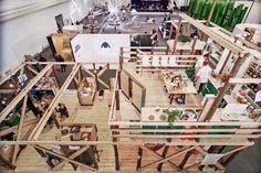 vitra hub at designblok reinterprets office furniture by konstantin grcic