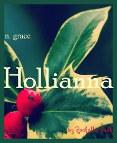 Baby Girl Name: Hollianna. Origin: Holly comes from Old English, and the plant is a symbol of protection associated with Christmas. Name Writing, Writing Practice, Writing Tips, Christmas Baby Names, English Baby Names, Pregnancy Timeline, Baby Fruit, December Baby, Unique Baby Names