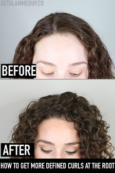 Curly Hairstyles How to Make Curls Tighter at the Root & More Defined.Curly Hairstyles How to Make Curls Tighter at the Root & More Defined Curly Hair Routine, Curly Hair Tips, Curly Hair Care, Curly Hair Styles, Natural Hair Styles, Thin Curly Hair, Colored Curly Hair, Mens Curly Hair Products, Hair Styling Products