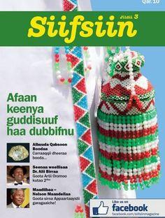 New book in Afaan Oromo.  Siifsiin