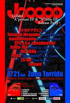 "Joogoo ~Lichard ""A""perture EP & ""N""ibble EP Release Party~ / 2015.03.21.Sat @ Zona Torrida"