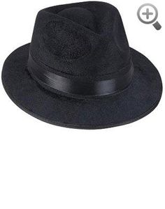 Black Pimp Gangsta Blues Brothers Costume Fedora Hat One Size (Fits Most Adults and Teens) #Black #Pimp #Gangsta #Blues #Brothers #Costume #Fedora #Hat #One #Size #Fits #Adults #Teens