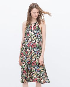 PRINTED DRESS-Maria Dueñas Jacobs-PICTURES | ZARA United States