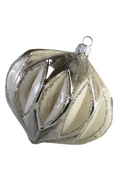 Nordstrom at Home Nordstrom at Home Faceted Handblown Glass Ornament available at #Nordstrom